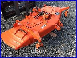 05 Kubota B7800 Tractor 4x4, Hydro, 230 Hr, 30HP, Loader, 60 Mid Mower, Backhoe