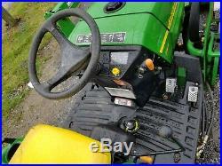 06 John Deere 2305 compact tractor loader 24hp Yanmar diesel 4x4 HST used 576 hr