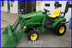 1023e John Deere 4x4 4WD Hydrostatic Loader TRACTOR ie hst 1025r 2305 1026r 2320