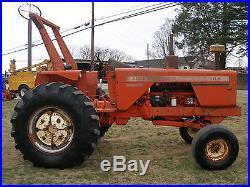 185 Allis Chalmers Crop Hustler 2wd Diesel Tractor