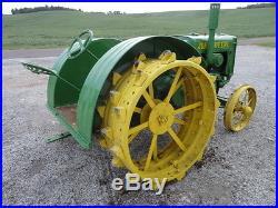 1925 John Deere Unstyled Spoker D Tractor