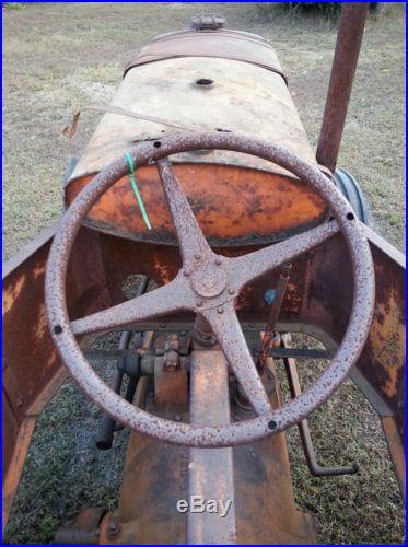 1930 Allis-Chalmers U tractor RARE