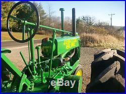 1935 John Deere 4 Bolt B Unstyled Antique Tractor NO RESERVE A G H M D farmall