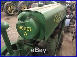 1935 John Deere Model A Tractor Antique/Vintage Brass Tag