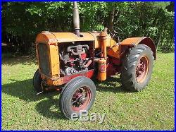 1935 McCormick-Deering W30 antique tractor