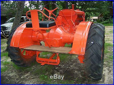 1936 Allis Chalmers UC Antique Tractor NO RESERVE