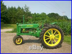 1936 John Deere Unstyled B Antique Tractor NO RESERVE Spokes Farmall Oliver Case