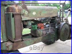 1937 John Deere A S/n 446136