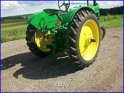 1938 John Deere A Antique Tractor NO RESERVE Fenders Completely Rebuilt