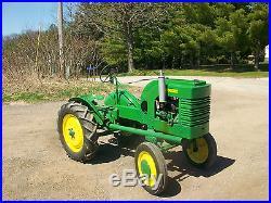 1938 John Deere L Antique Tractor NO RESERVE New Tires Runs Great A B D G M H LA