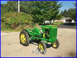 1938 John Deere Unstyled L Antique Tractor NO RESERVE A B G D M farmall oliver