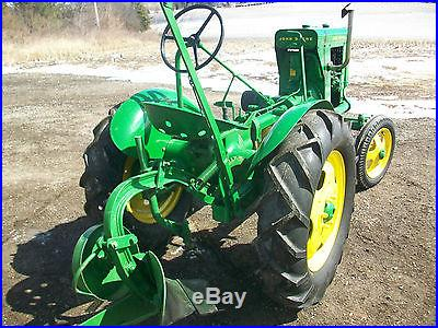 1938 John Deere Unstyled L Antique Tractor NO RESERVE Belt Pulley Plow New Tires