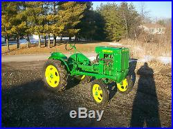 1938 John Deere Unstyled L Antique Tractor NO RESERVE Vintage Motor Overhauled