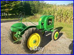 1939 John Deere L Antique Tractor NO RESERVE A B G H M D R Farmall Oliver