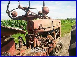 1944 Farmall M Antique Tractor NO RESERVE H A B C International Harvestor Oliver