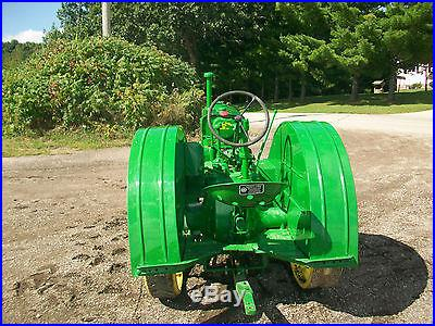 1944 John Deere BR Antique Tractor NO RESERVE Full Steel PTO Oliver