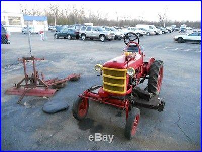1946 International Cub Low-Boy Tractor