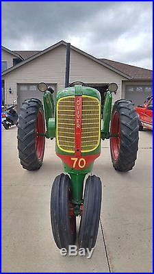 1946 Oliver 70 Tractor Restored & Very Beautiful