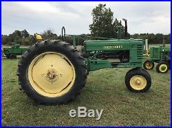 1947 John Deere B Antique Tractor