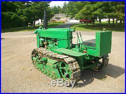 1950 John Deere MC Antique Tractor Crawler NO RESERVE Dozer farmall oliver ac