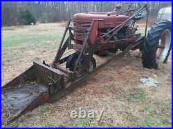 1950s Farmall M SERIES Loader/Tractor, all ORIGINAL withbucket, see desc, CHICKMAGNET