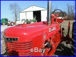 1952 Farmall Model H antique tractor
