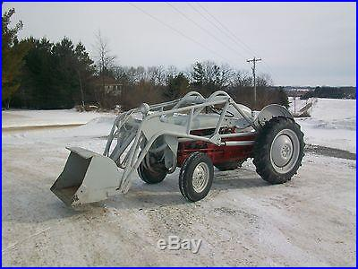 1953 Ford Ferguson TO-30 Antique Tractor NO RESERVE New Tires Hydraulic Loader