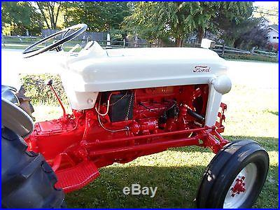 1953 Ford Golden Jubilee Tractor Restored Excellent Condition