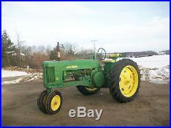 1953 John Deere 50 Antique Tractor NO RESERVE 40 60 70 80 farmall oliver allis