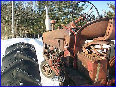 1955 Farmall Antique Tractor NO RESERVE Factory Power Steering Live PTO