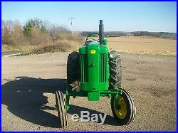 1955 John Deere 40 S Antique Tractor NO RESERVE A B G H D M R farmall oliver