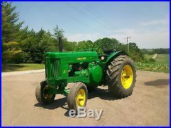 1955 John Deere 70 Gas Standard Antique Tractor NO RESERVE Rockshaft Farmall A B