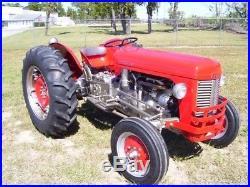 1955 Massey Ferguson TO-35 Restored Gas Tractor