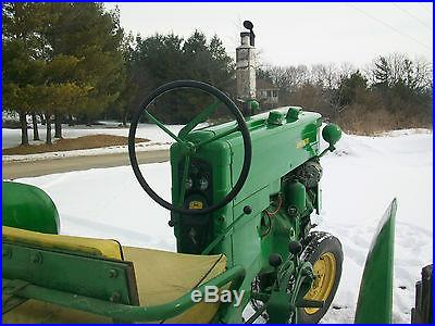 1956 John Deere 420T Antique Tractor NO RESERVE Three Point Fenders