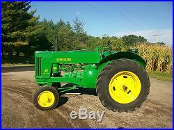 1956 John Deere 60 HI SEAT Antique Tractor NO RESERVE Power Steering A B Farmall