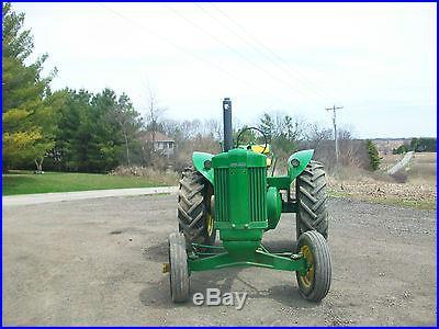 1956 John Deere 60 High Seat Standard Antique Tractor NO RESERVE Farmall