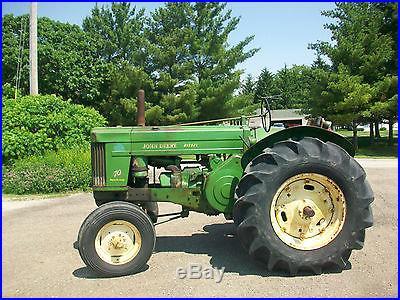 1956 John Deere 70 Diesel Standard Antique Tractor NO RESERVE Rare Rockshaft