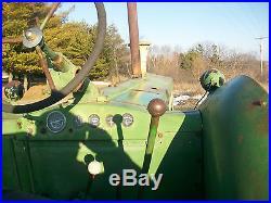 1956 John Deere 80 Antique Tractor NO RESERVE Good Pony Motor Runs Excellent