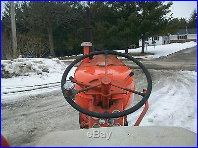 1957 Allis Chalmers D-14 Antique Tractor NO RESERVE Power Steering Woods Mower