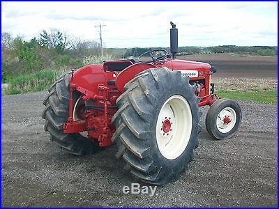 1957 International Farmall 350 Utlity Antique Tractor NO RESERVE Power Steering