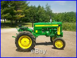 1957 John Deere 320 S Antique Tractor NO RESERVE A B G H 420 520 620 720 820