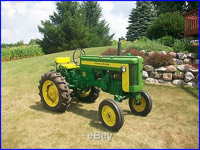 1957 John Deere 320 S Antique Tractor NO RESERVE New Tires Farmall Oliver