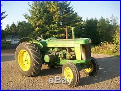 1957 John Deere 820 Antique Tractor Standard NO RESERVE 830 A B G H D Farmall