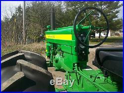 John Deere H High Crop Antique Tractor No Reserve Excellent A B Farmall Tp