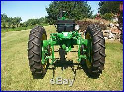 1958 John Deere 420 H High Crop Antique Tractor NO RESERVE Excellent a b farmall