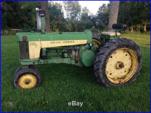 1958 John Deere 530 630 730 830 430 330 Plow 720 520 50