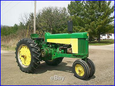 1958 John Deere 630 Antique Tractor NO RESERVE