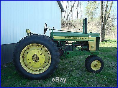 1958 John Deere 720 Diesel ES Row Crop