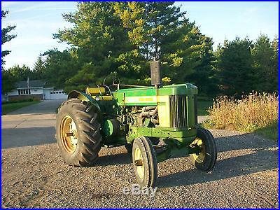 1958 John Deere 720 Standard Diesel Antique Tractor NO RESERVE