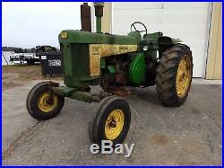 1958 John Deere 730 Diesel Tractor 3pt WF More